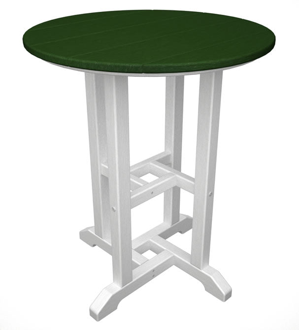 "Polywood Contempo 24"" Round Dining Table"