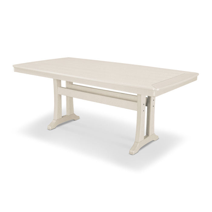 "Polywood Nautical Trestle 38"" x 73"" Dining Table"