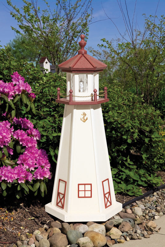 Twin Oaks 3' Poly Lighthouse - Marblehead