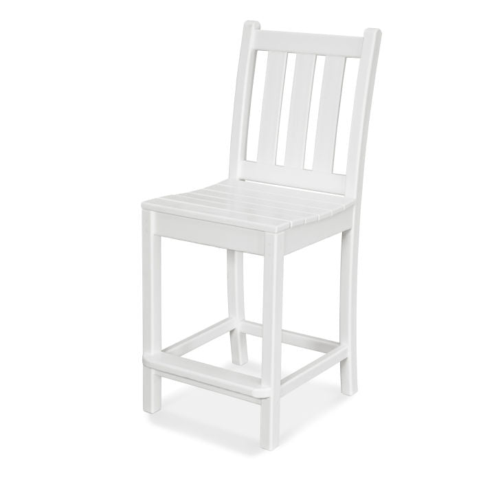 Polywood Traditional Garden Counter Side Chair
