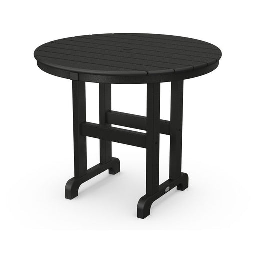 "Polywood La Casa Cafe Round 36"" Dining Table"