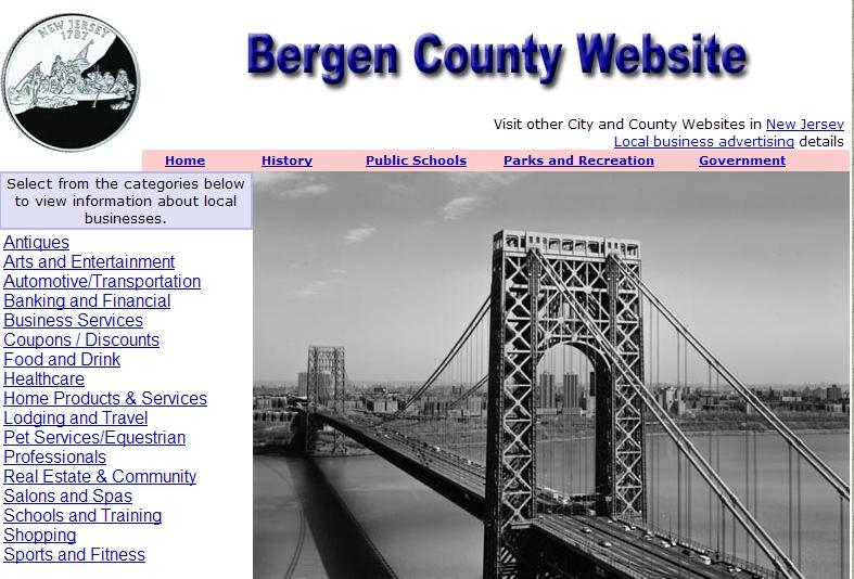 Bergen County Website - CountyWebsite.com