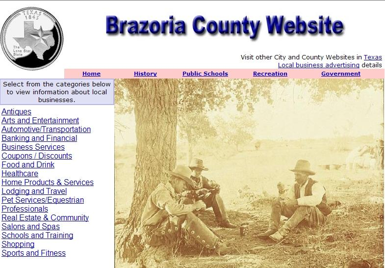 Brazoria County Website - CountyWebsite.com