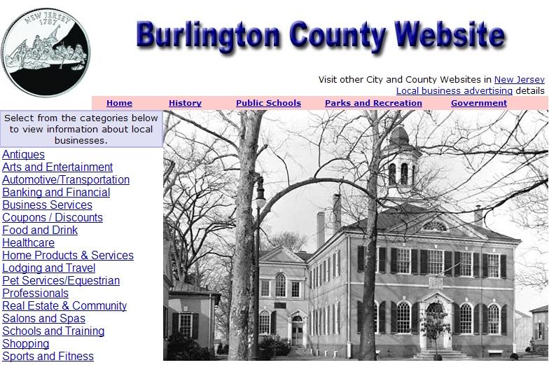 Burlington County Website - CountyWebsite.com