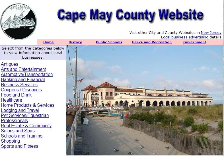 Cape May County Website - CountyWebsite.com