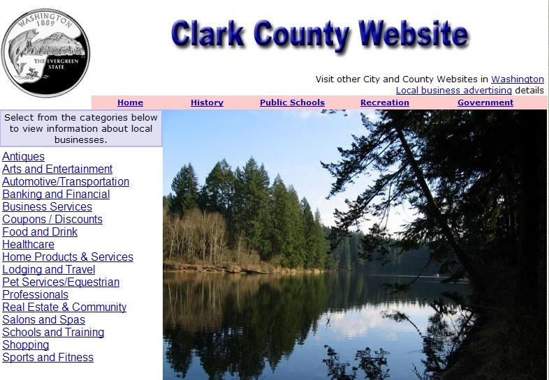 Clark County, Washington Website - CountyWebsite.com