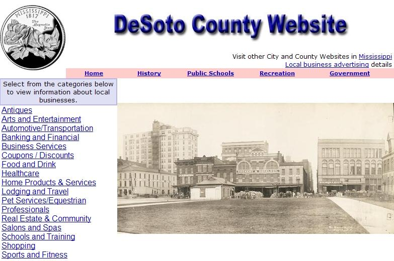 DeSoto County, Mississippi Website - CountyWebsite.com