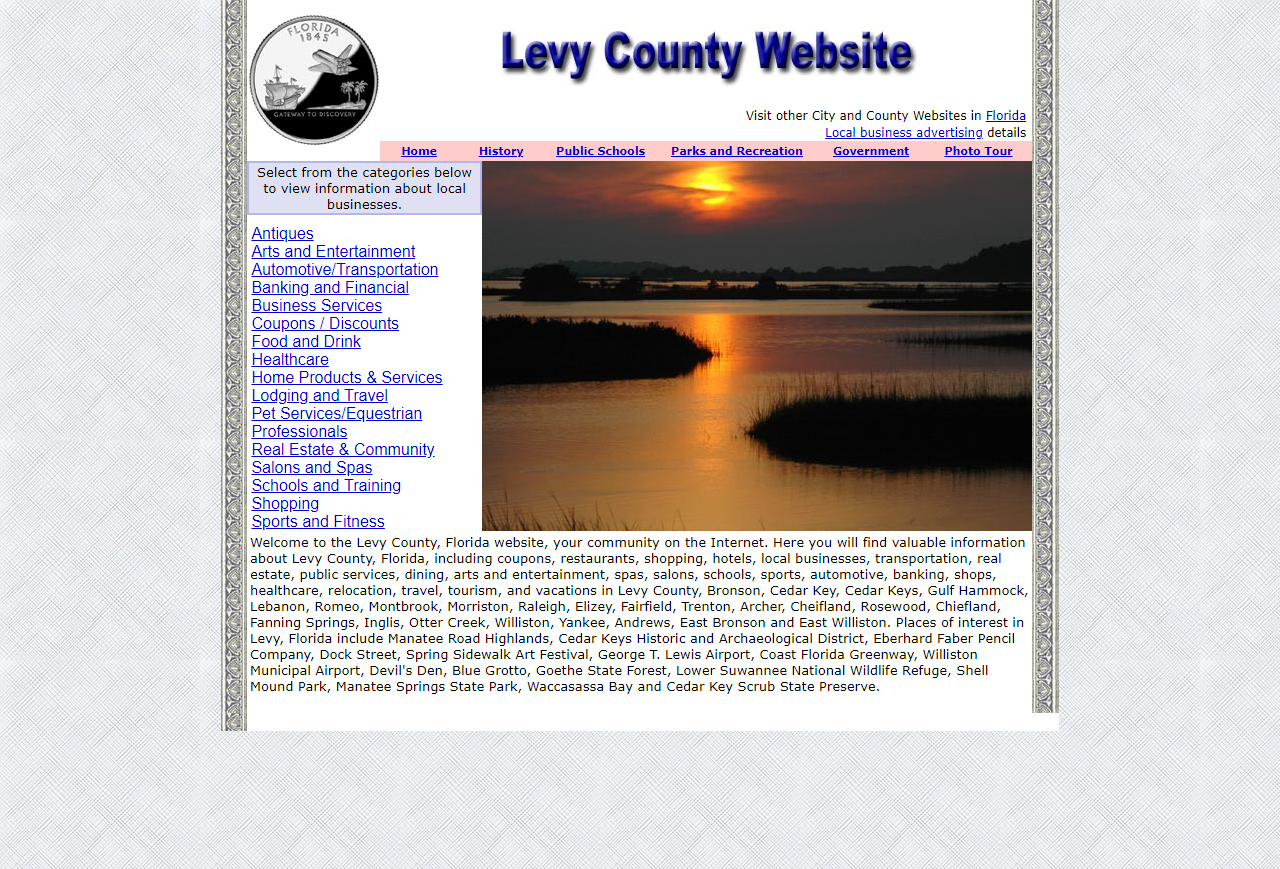 Levy County - CountyWebsite.com