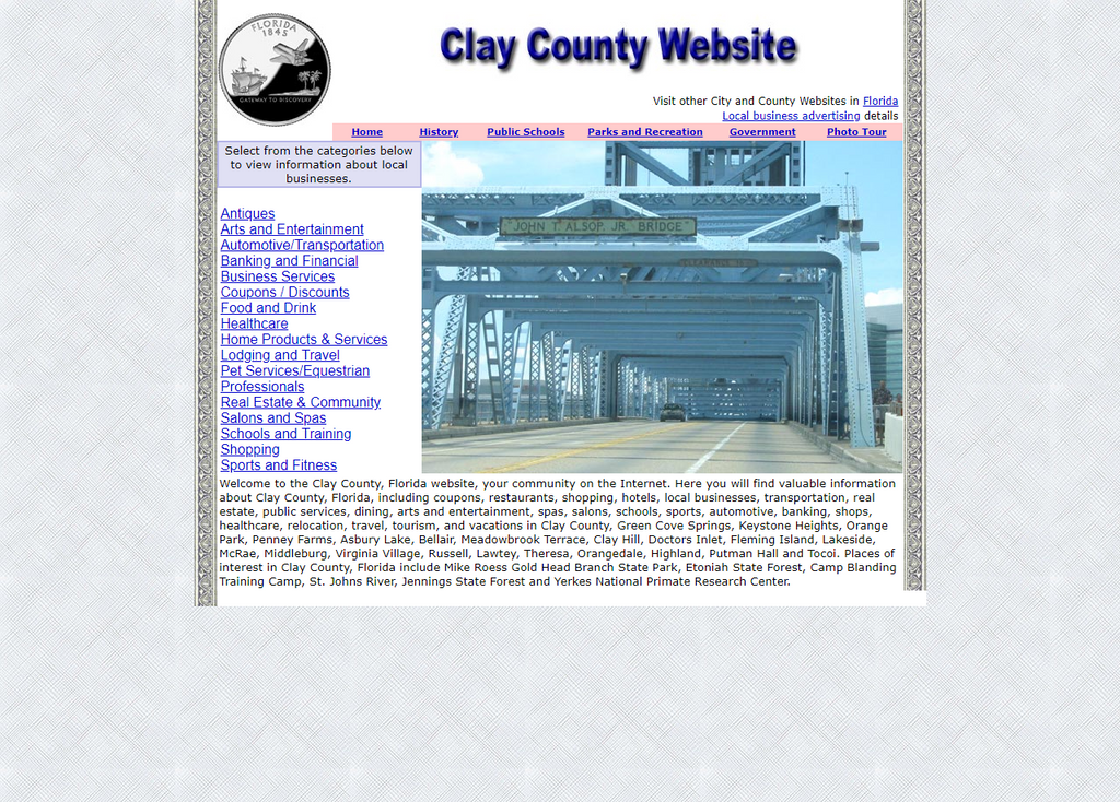 Clay County - CountyWebsite.com