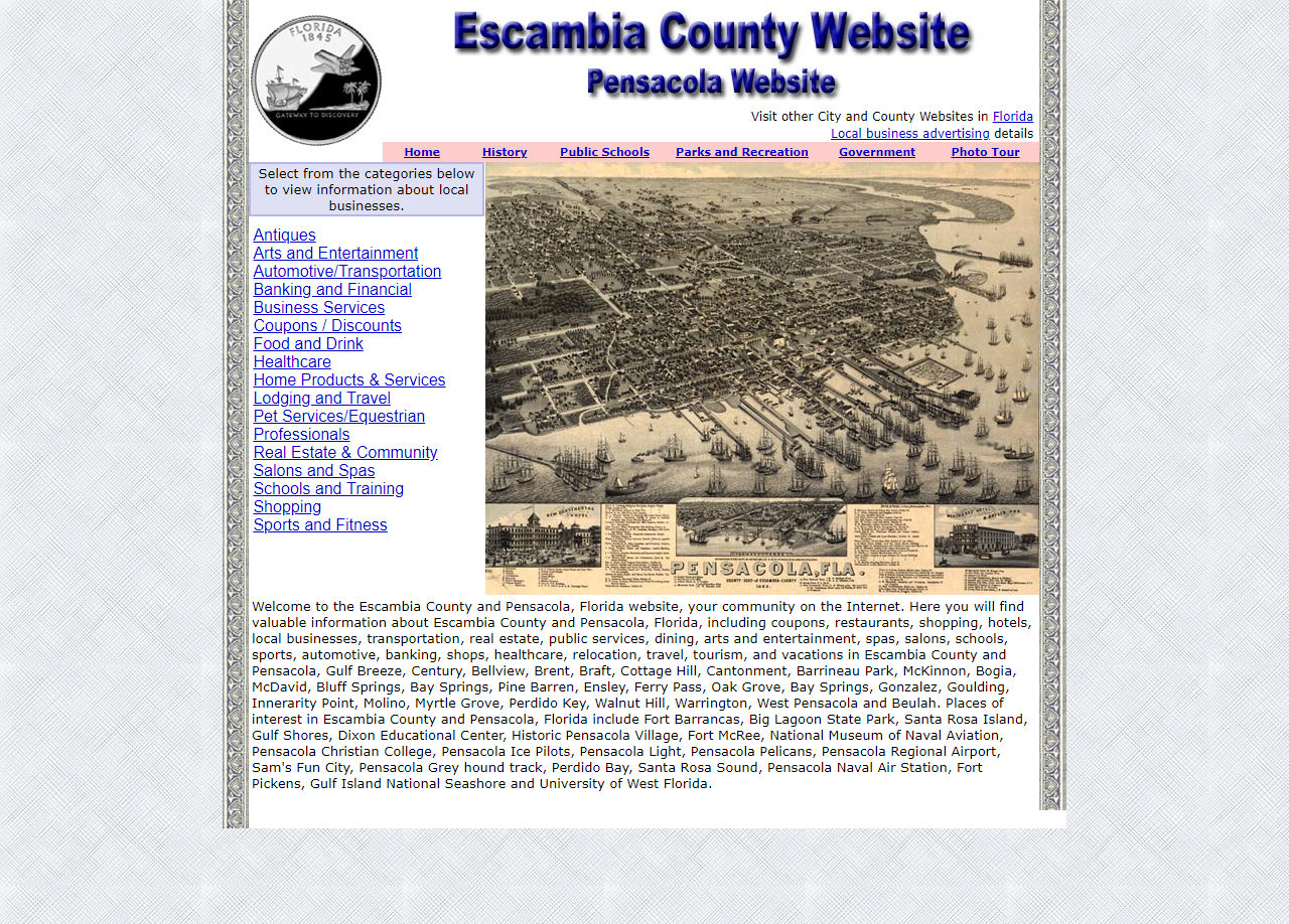 Escambia County - CountyWebsite.com
