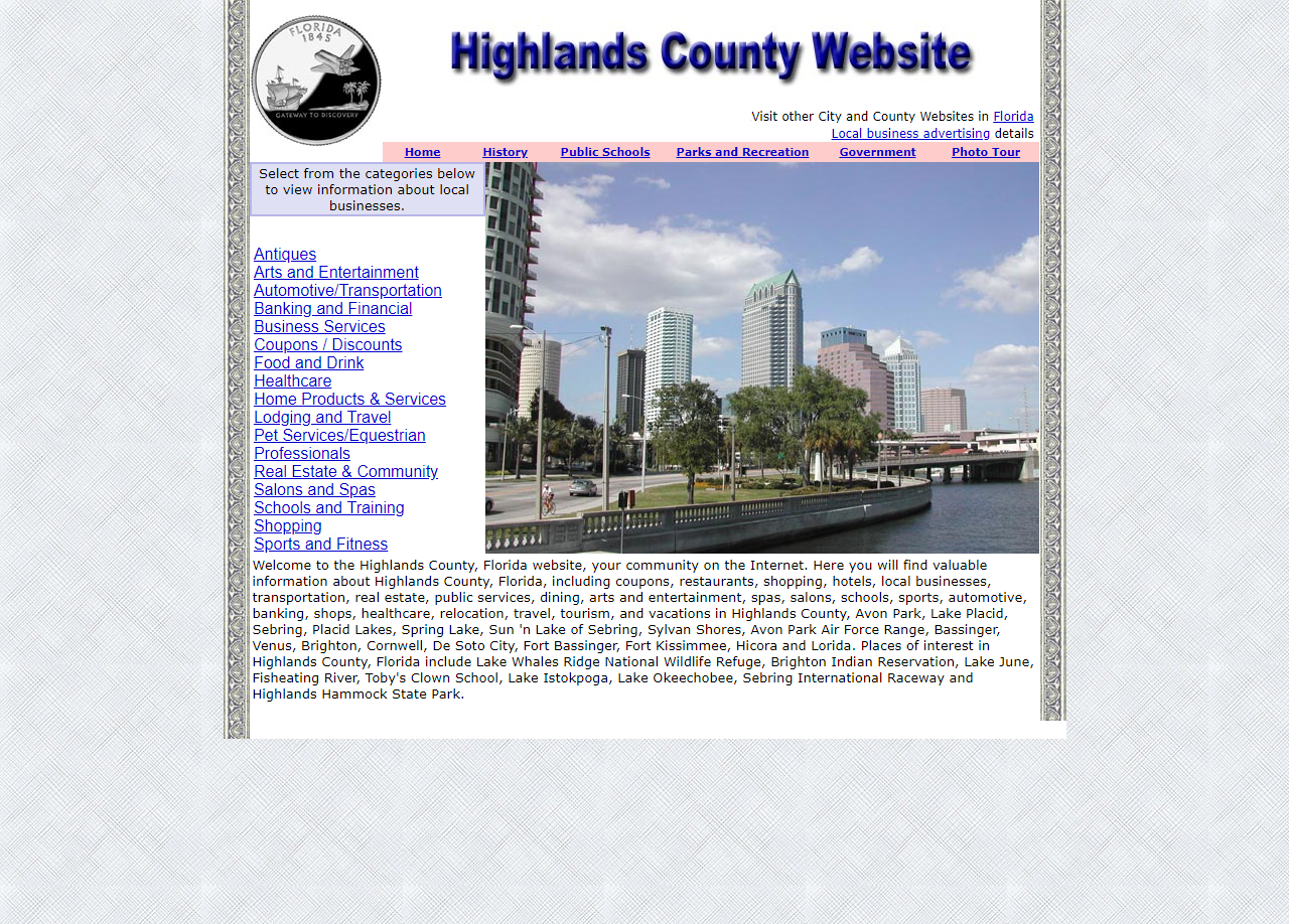 Highlands County - CountyWebsite.com