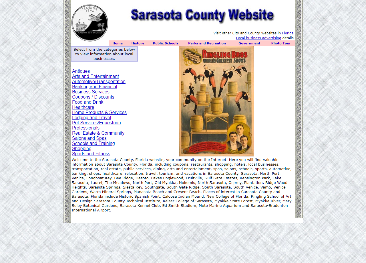 Sarasota - CountyWebsite.com