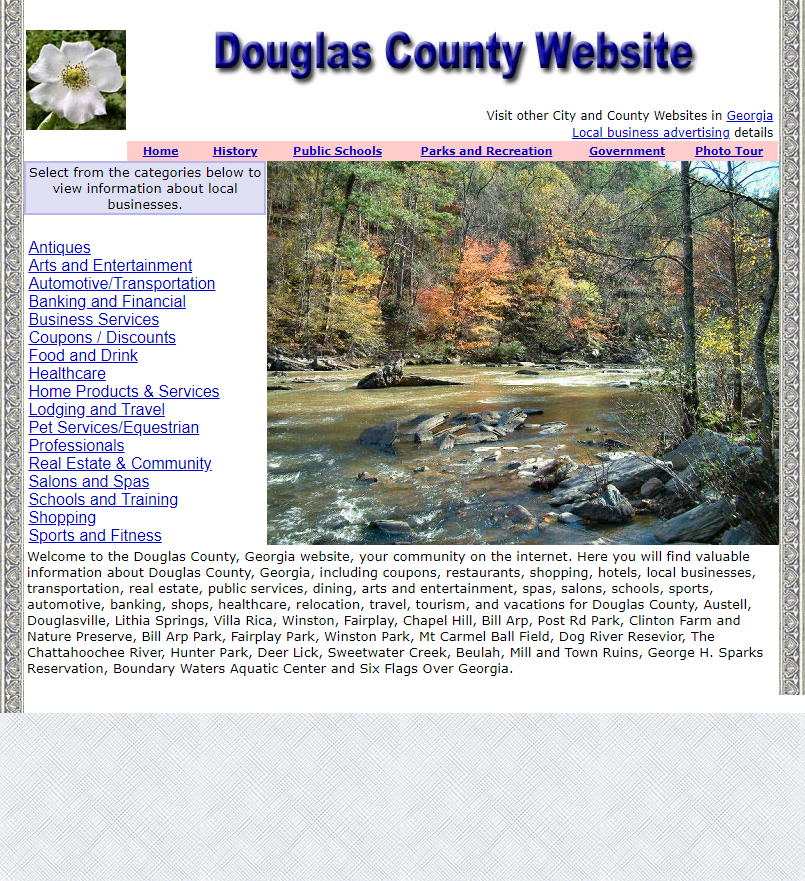 Douglas County, Georgia Website - CountyWebsite.com