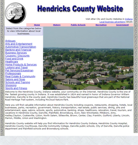 Hendricks County - CountyWebsite.com