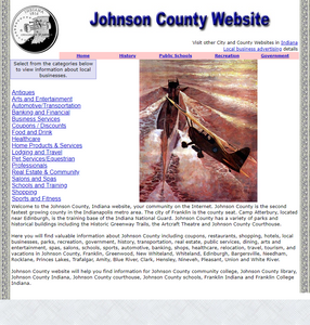 Johnson County - CountyWebsite.com