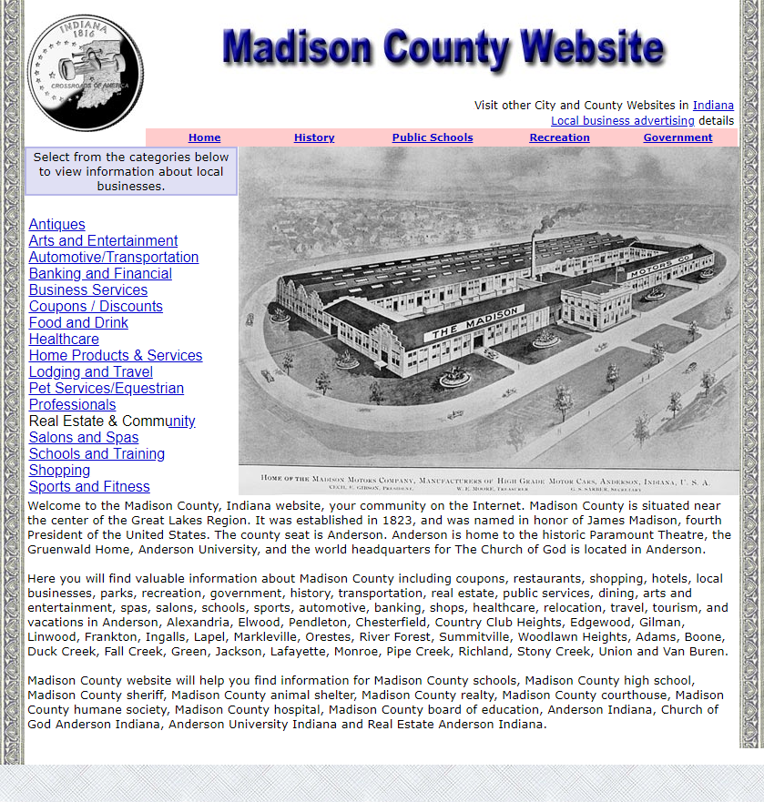 Madison County - CountyWebsite.com