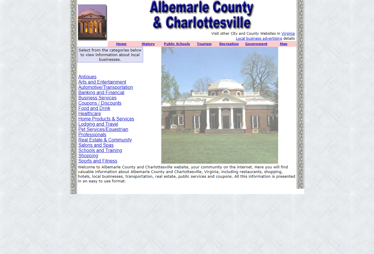Albemarle County and Charlottesville - CountyWebsite.com