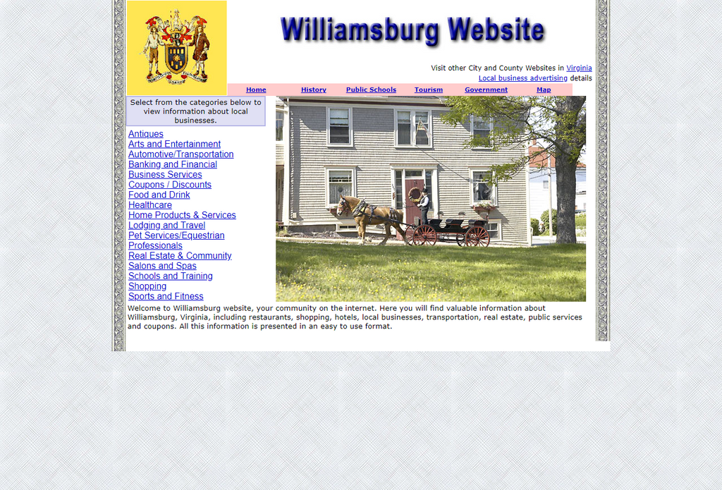 Williamsburg - CountyWebsite.com