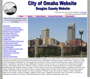 Douglas County and Omaha Website - CountyWebsite.com