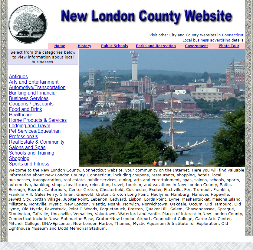 New London County - CountyWebsite.com