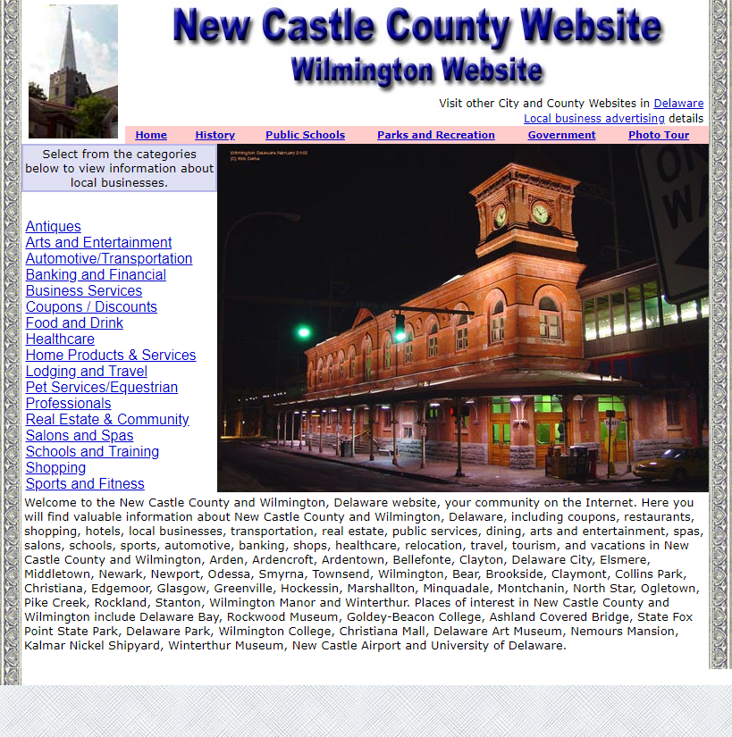New Castle County - CountyWebsite.com