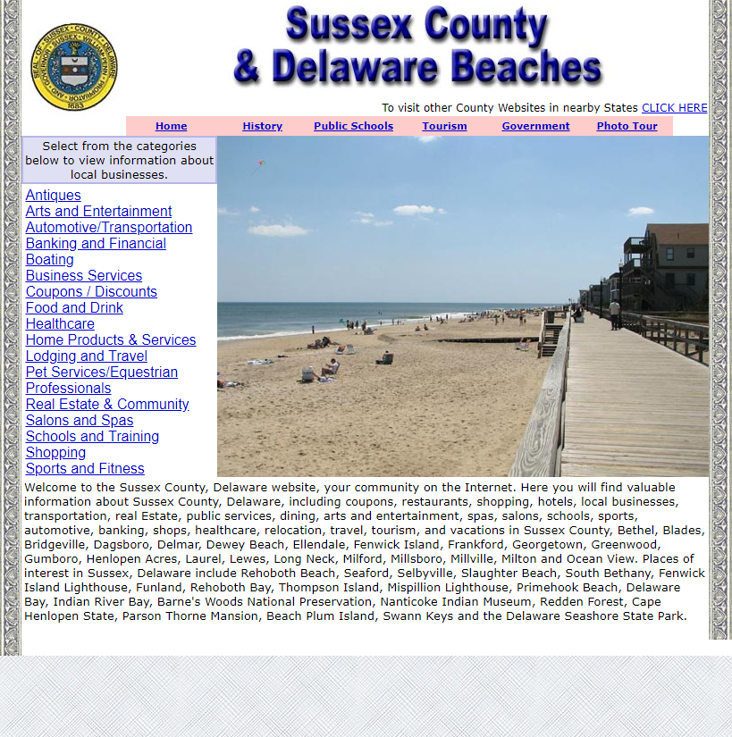 Sussex County - CountyWebsite.com