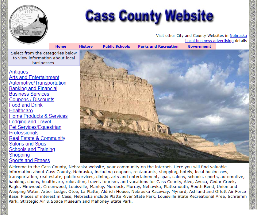 Cass County Website - CountyWebsite.com