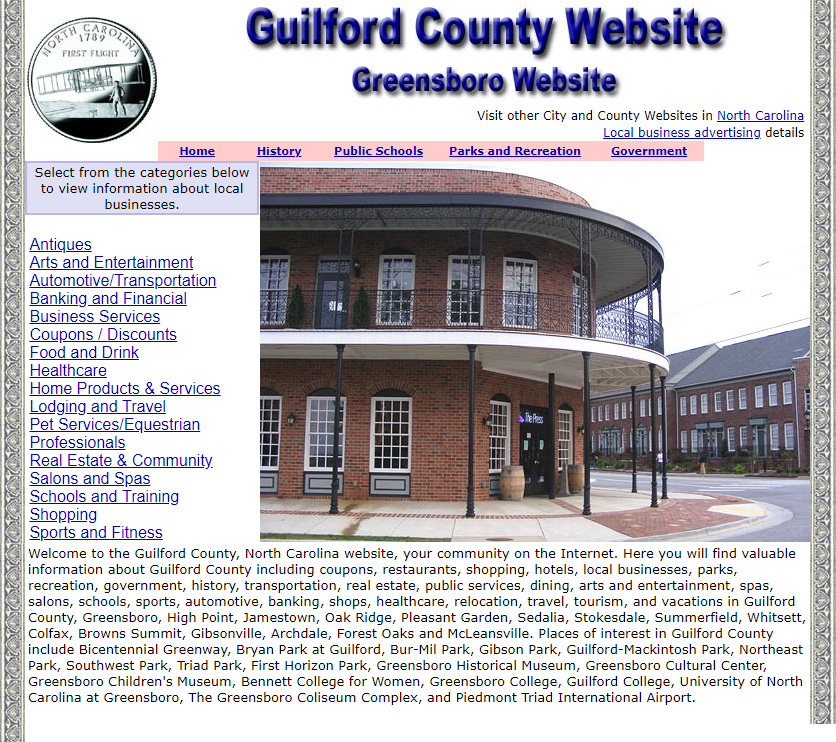Guilford County - CountyWebsite.com