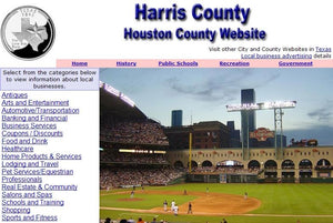 Harris County and Houston Website - CountyWebsite.com