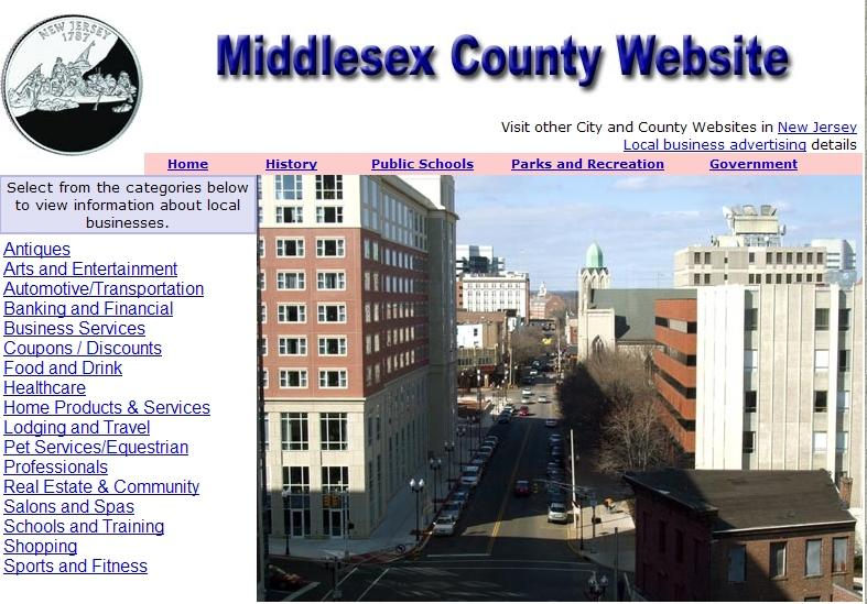 Middlesex County, New Jersey Website - CountyWebsite.com