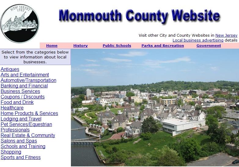 Monmouth County Website - CountyWebsite.com