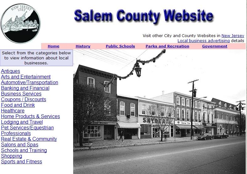 Salem County Website - CountyWebsite.com