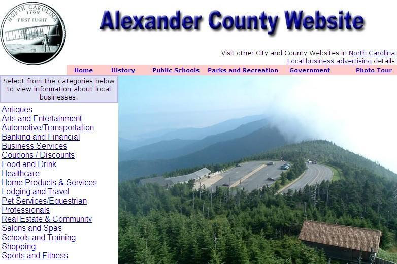 Alexander County Website - CountyWebsite.com