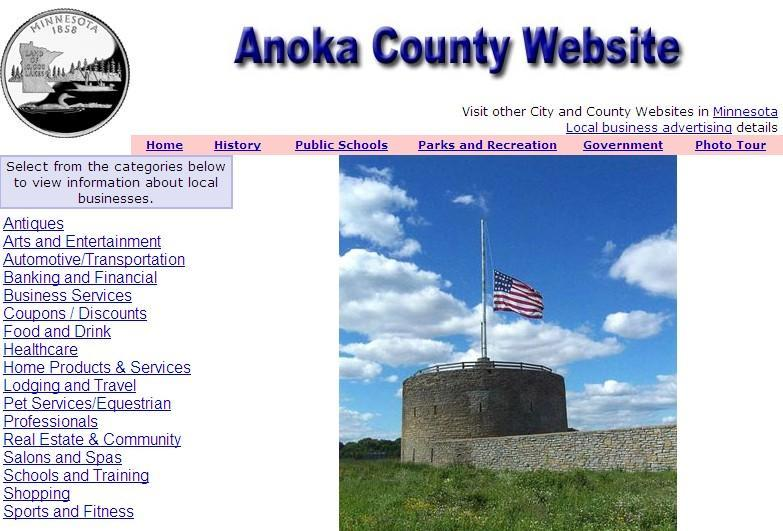 Anoka County Website - CountyWebsite.com