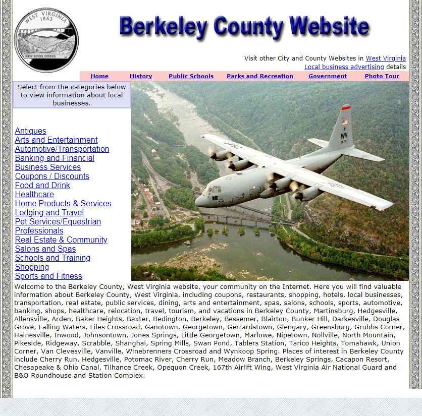 Berkeley County Website - CountyWebsite.com