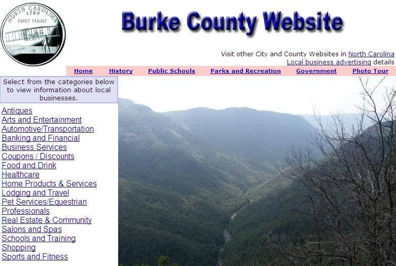 Burke County Website - CountyWebsite.com