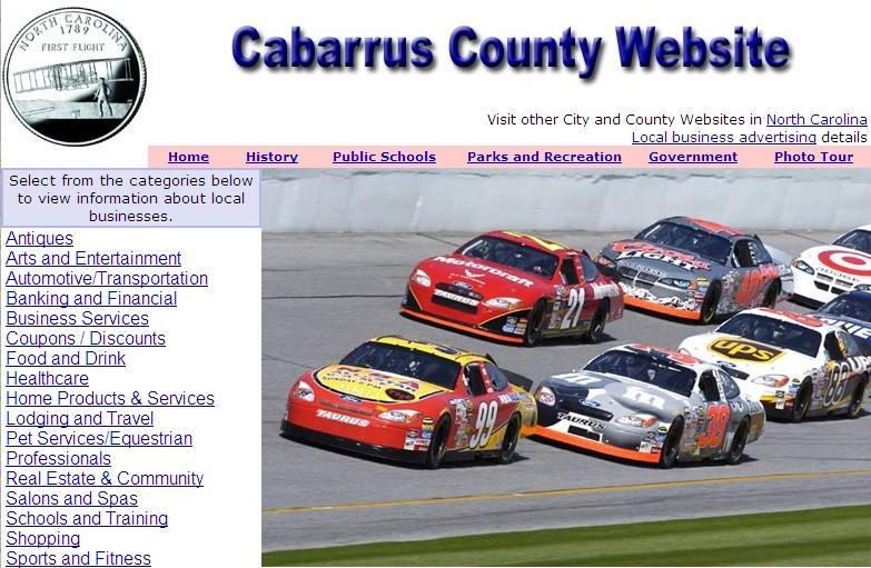 Cabarrus County Website - CountyWebsite.com