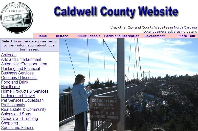 Caldwell County Website - CountyWebsite.com