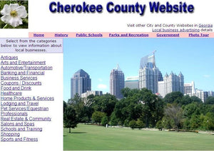 Cherokee County Website - CountyWebsite.com