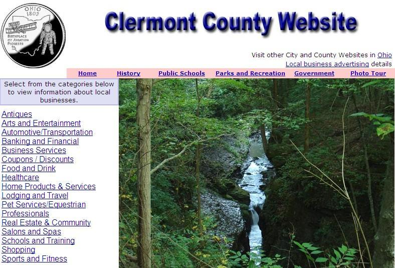 Clermont County Website - CountyWebsite.com
