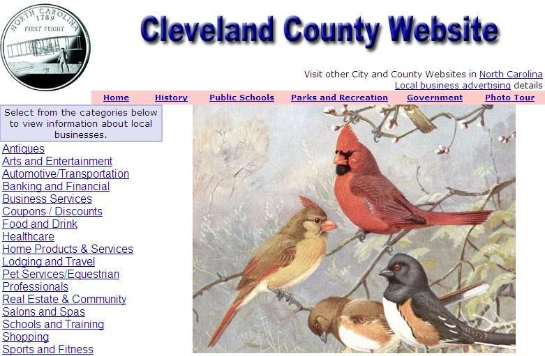 Cleveland County Website - CountyWebsite.com