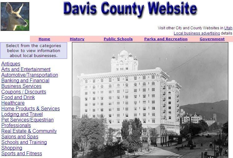 Davis County Website - CountyWebsite.com