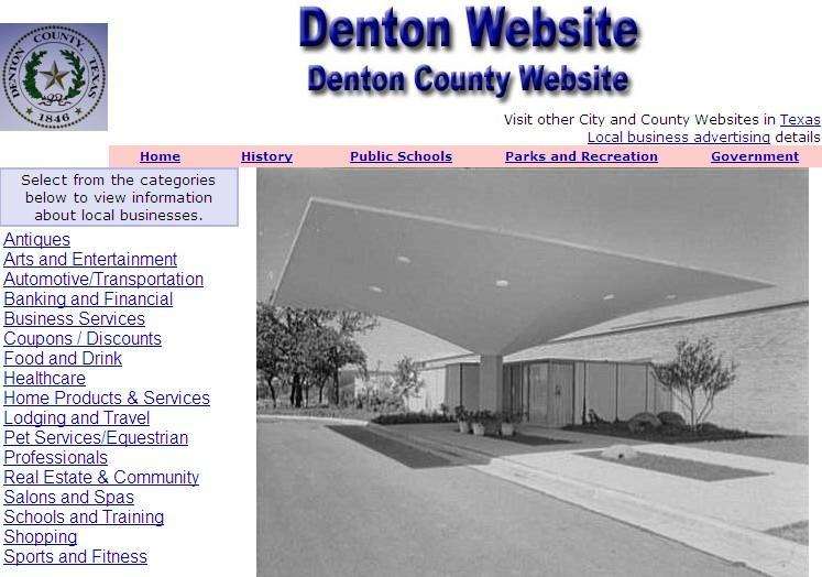 Denton County Website - CountyWebsite.com