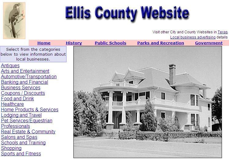 Ellis County Website - CountyWebsite.com