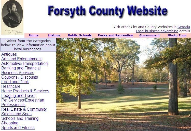 Forsyth County Website - CountyWebsite.com