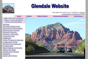 Glendale Website - CountyWebsite.com