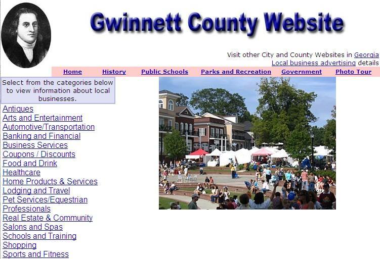 Gwinnett County Website - CountyWebsite.com