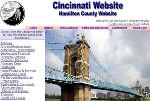 Hamilton County and Cincinnati Website - CountyWebsite.com