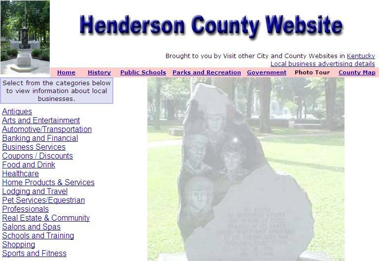Henderson County Website - CountyWebsite.com