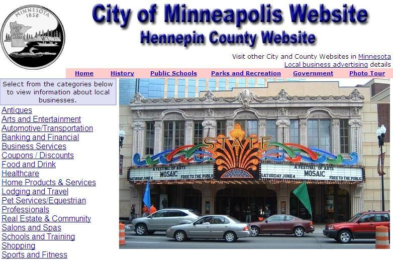 Hennepin County and Minneapolis Website - CountyWebsite.com